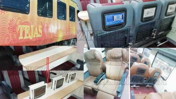 Amazing! Tejas Express coaches get swankier upgrade, luxurious aircraft like features; to roll out soon