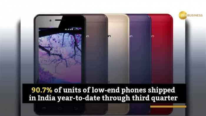 Low-end phones dominate India smartphone market