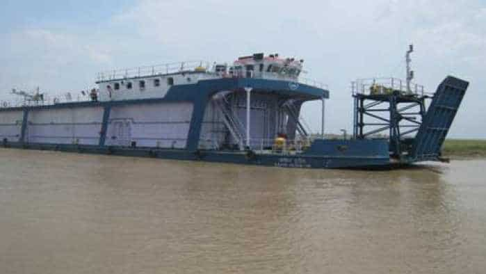 Big moment for Inland Water Transport in India! Vessel reaches Patna from Kolkata along Ganga
