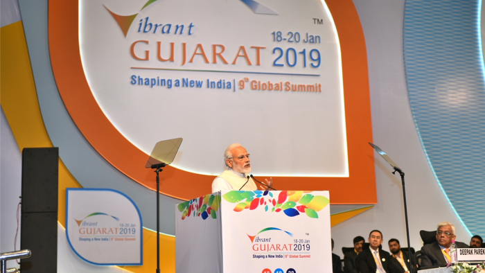 Vibrant Gujarat Global Summit: PM Modi says India aims at 'Top 50' rank in ease of doing business by 2020