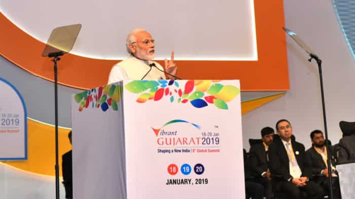 MoUs worth Rs 56,000 crore inked on Day 1 of Vibrant Gujarat Global Summit