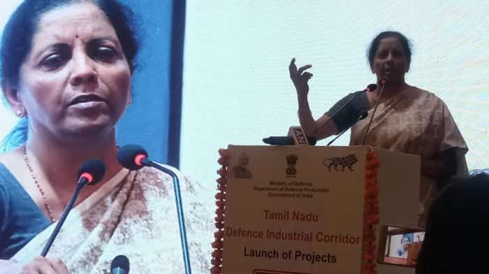 Catalyst for defence industrial units connectivity! Niramala Sitharaman inaugurates Tamil Nadu Defence Industrial Corridor