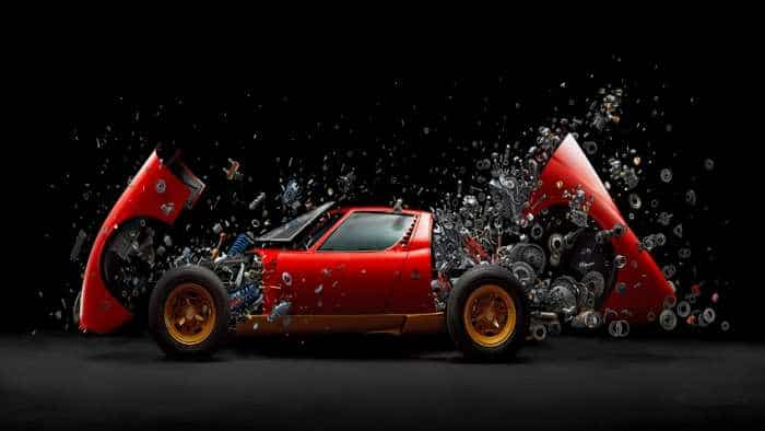 Ever seen an exploding Lamborghini Miura SV? These pics will leave you stunned!
