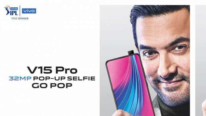 Vivo V15 Pro with world's first 32MP pop-up selfie camera launched in India: Check price, specifications
