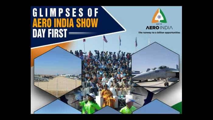 Aero India 2019 day 1 highlights: Check stunning images