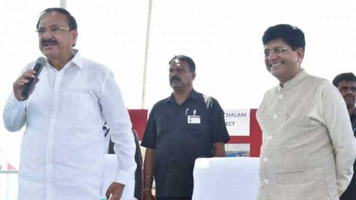 Nellore railway station to get world-class makeover; Venkaiah Naidu dedicates various train services to Andhra Pradesh