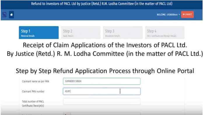 PACL: Demo video for making refund claims by investors - Watch step by step application process through online portal