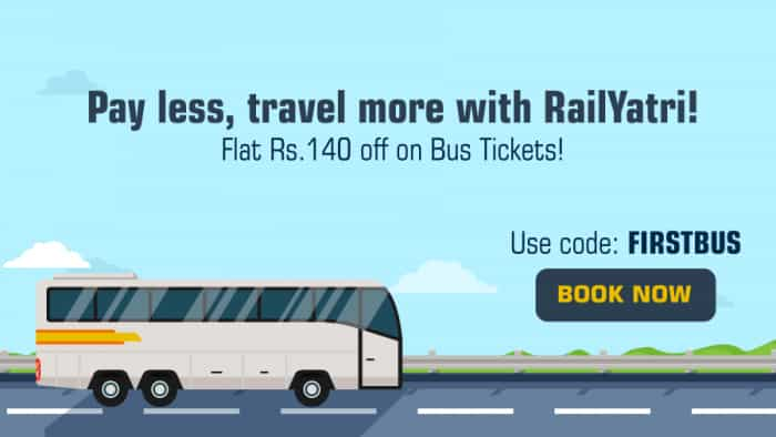 RailYatri plans 2,000 buses on its platform in 2 years