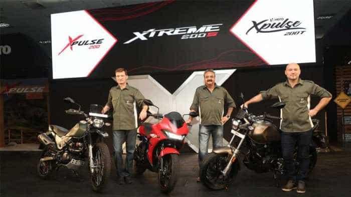 Stunning PICS of Hero XPulse 200, Hero XPulse 200T, Hero Xtreme 200S - Features explained