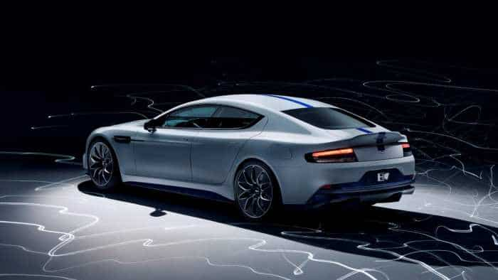 Aston Martin's first all-electric vehicle Rapide E - Check speed, other features