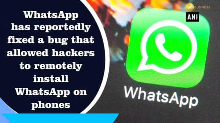 WhatsApp bug allowed installation of spyware
