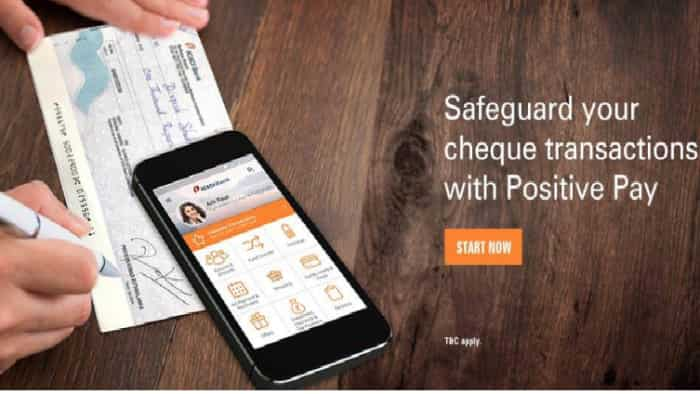 Safeguard yourself from cheque frauds with Positive Pay