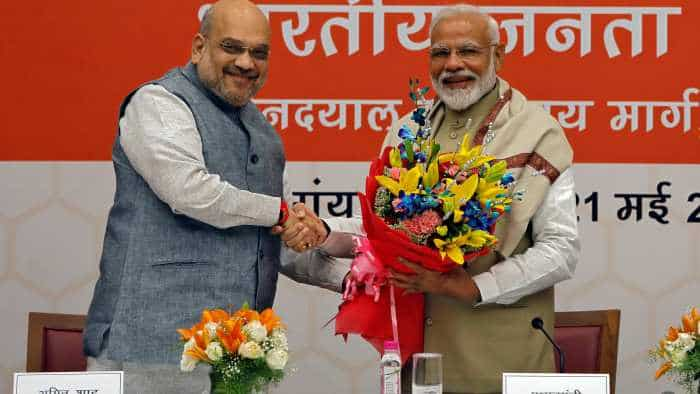 Lok Sabha Election results 2019: Celebrations begin as BJP set to get majority riding on Modi magic
