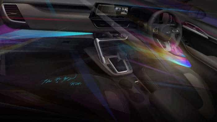 Kia SUV is coming! Want to see how it looks from inside? Bold! Check images of interior design, infotainment