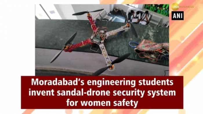 Moradabad's engineering students invent sandal-drone security system for women safety