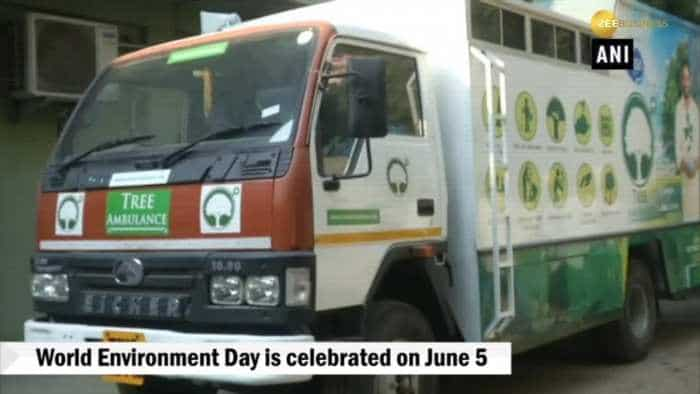 Chennai environmentalist launches 'Tree Ambulance' with an aim to implement across country by 2020
