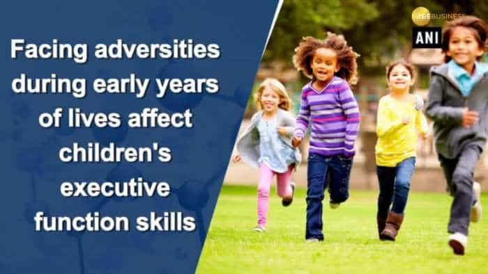 Early life challenges affect how children focus on activities