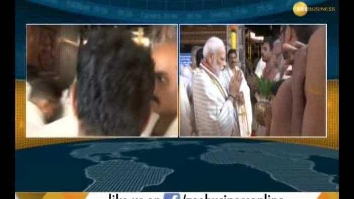 PM Modi offers prayers at Kerala temple before heading off to Maldives, Sri Lanka