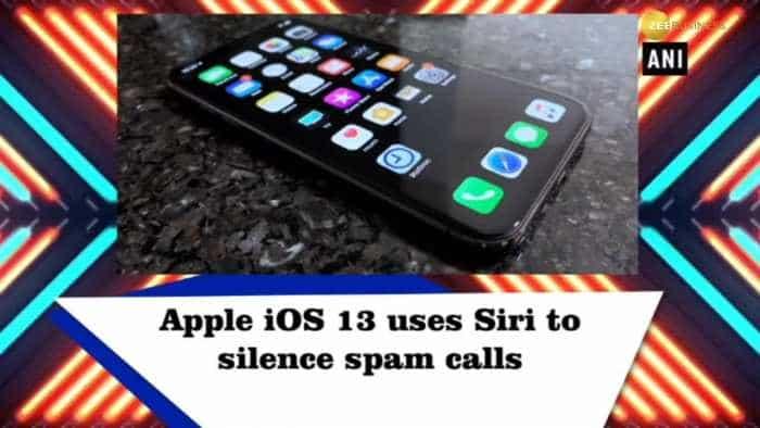 Apple iOS 13 uses Siri to silence spam calls