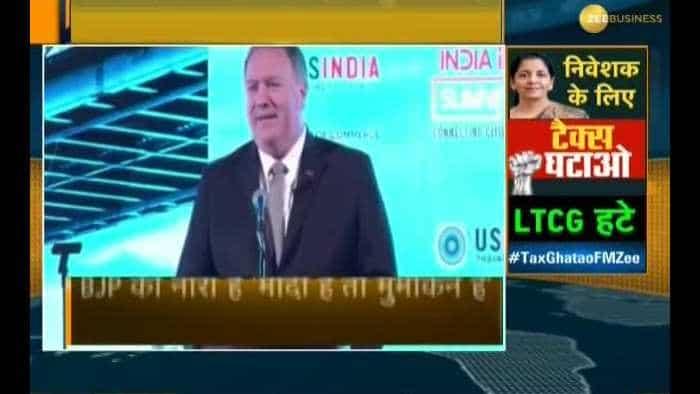 ''Modi Hai Toh Mumkin Hai'', says Mike Pompeo in major policy speech ahead of India visit