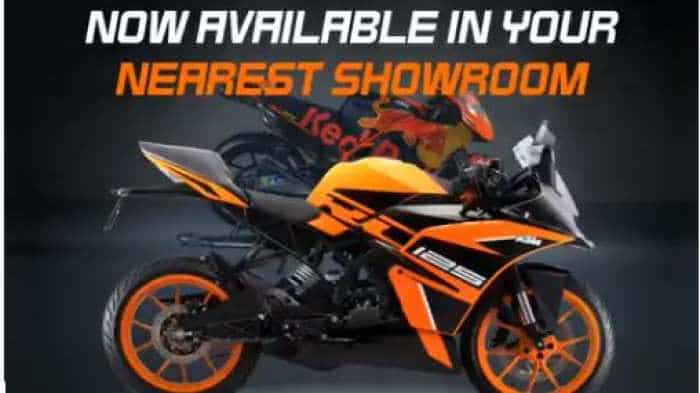 KTM RC 125 ABS motorcycle launched in India, priced at Rs 1.47 lakh