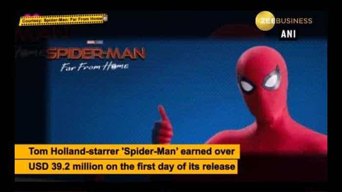 'Spider-Man: Far From Home' mints over USD 35 million on day 1