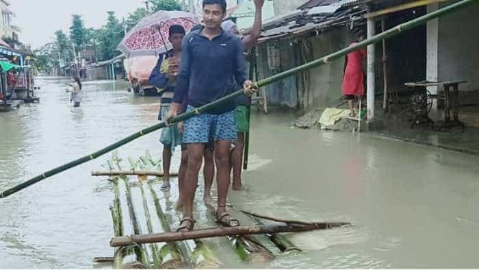 Bihar Flood 2019 Pics: Flood water inundates Araria