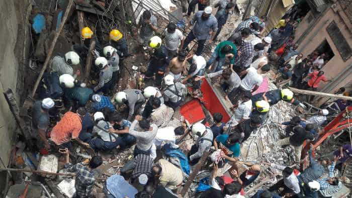 Mumbai building collapse: Over 40 people in debris; CM Devendra Fadnavis says focus on rescuing trapped people