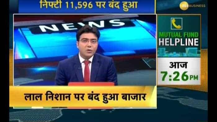Market Today: Sensex slips 318 pts, Nifty below 11,600