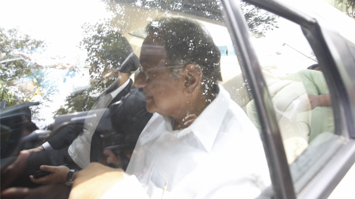 As sleuths quiz Chidambaram, CBI HQ turns into a fortress