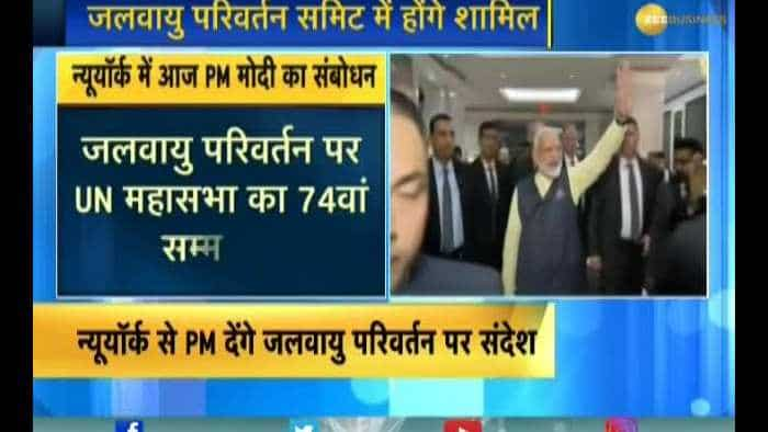 PM Modi arrives in New York after huge event in Houston