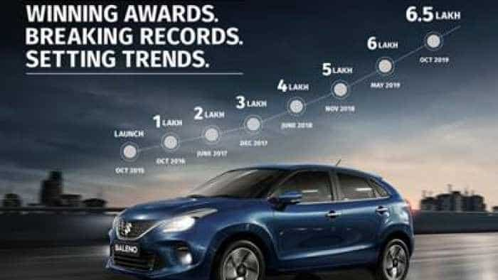 Maruti Suzuki Baleno becomes fastest premium hatchback to reach the 6-lakh milestone