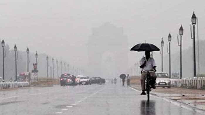 Weather today: IMD forecast rain, even hailstorm in Delhi, Noida, Gurgaon; flights at Delhi airport affected