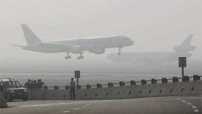 Delhi airport flights status: 26 flights diverted from IGI Airport due to heavy rains and strong wind