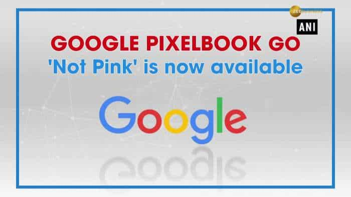 Google Pixelbook Go 'Not Pink' is now available