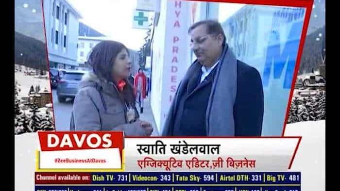 Zee Business in exclusive conversation with LT Foods Chairman VK Arora at Davos