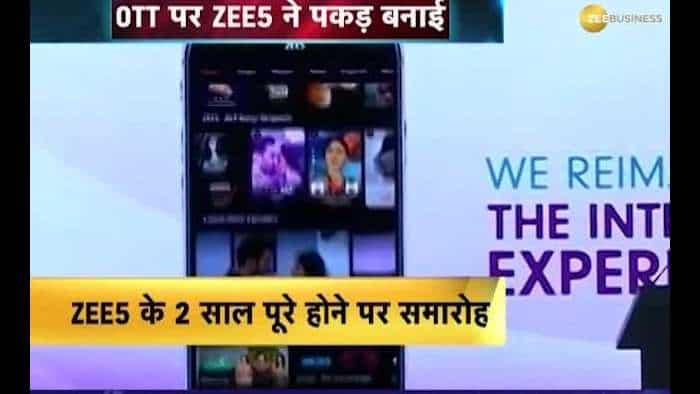 Zee Business Exclusive: Celebration on completion of 2 years of Zee5