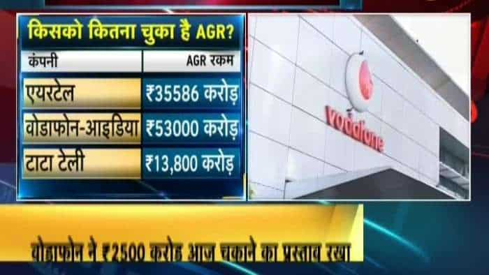 AGR dues : Airtel pays 10 thousand crore to DOT, Vodafone Idea don't get relief