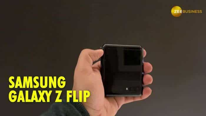 Samsung Galaxy Z Flip smartphone first Look & Impression