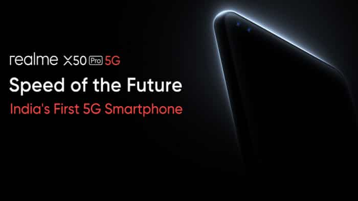 Realme X50 Pro 5G launching today: All you need to know about India's first 5G smartphone