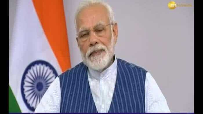 In a first public engagement after nationwide lockdown, PM Modi interacts with people of Varanasi