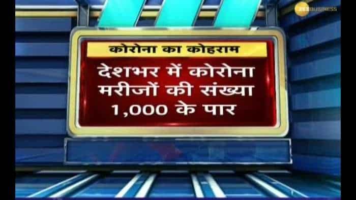 Coronavirus cases in India cross 1000 mark