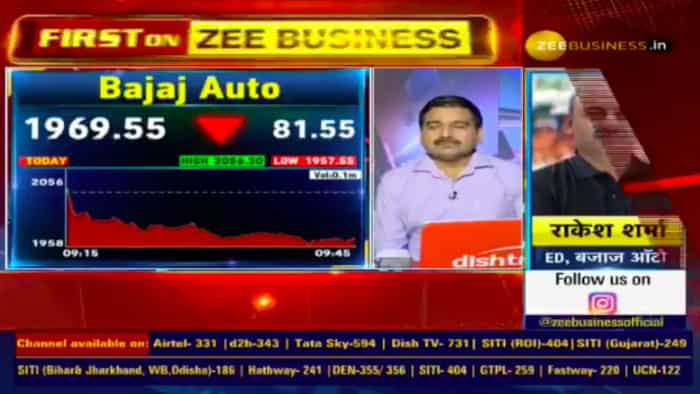 We have posted better sales numbers than the industry: Rakesh Sharma, ED, Bajaj Auto