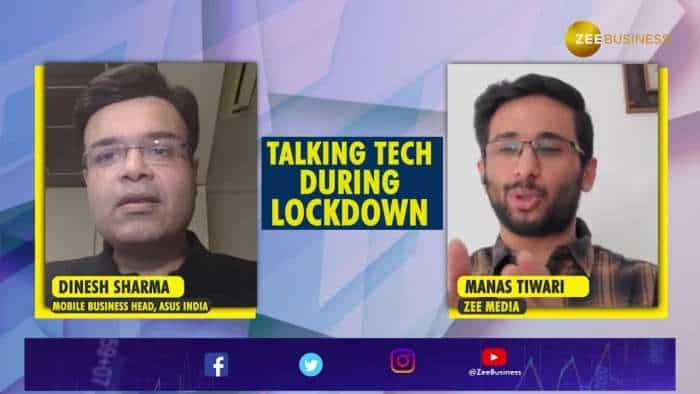 Talking Tech during lockdown with Dinesh Sharma, Mobile Business Head, ASUS India | Z series | ROG Phone II