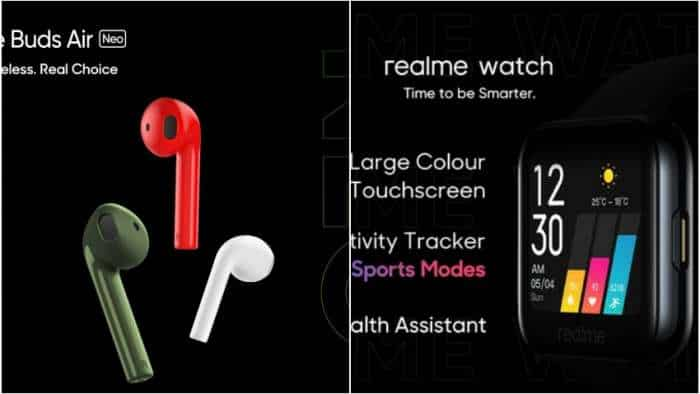 Realme Watch, Realme Buds Air Neo launched in India: Check features and specs