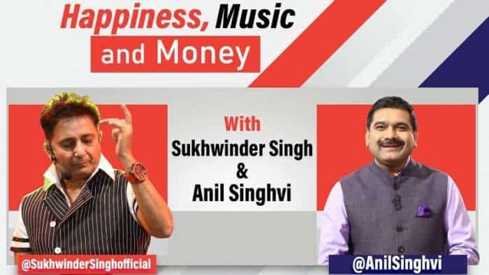 #StarsOnZeeBusiness: Jai ho! Anil Singhvi in chat with 'Chaiyya Chaiyya' fame Sukhwinder Singh - WATCH FULL VIDEO