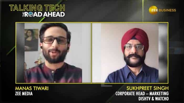Talking Tech The Road Ahead with DishTV's Sukhpreet Singh | Watcho | OTT platforms