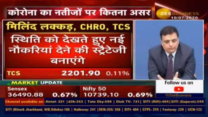 TCS will hire 40,000 people via Campus hiring soon: Milind Lakkad, CHRO