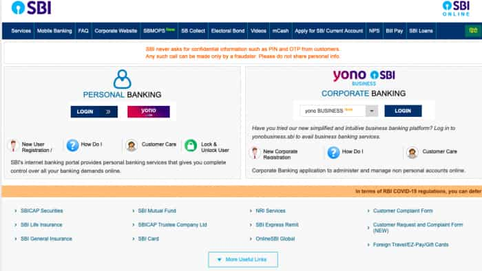 OnlineSBI: Benefits you probably don't know, but are being offered by State Bank of India website