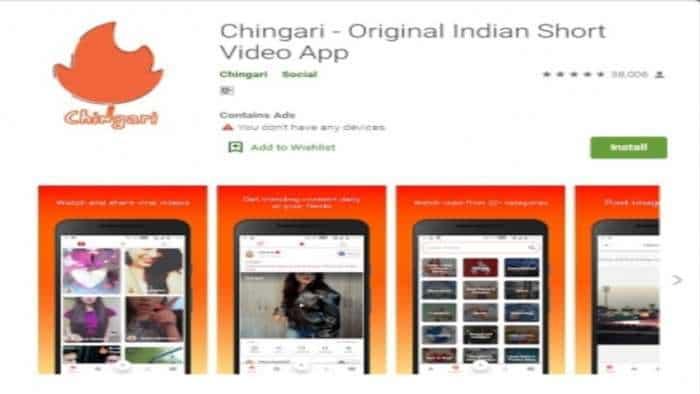Desi app Chingari raises nearly Rs 10 crore in seed funding